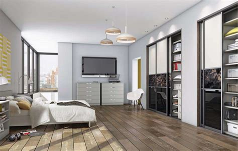 Contemporary Bedroom Storage Ideas Outstanding How To Decorate Small Room With Bed With