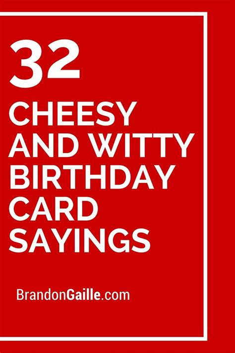 Card Sayings