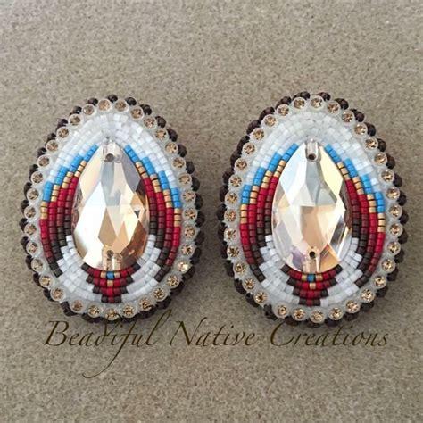 beadwork earrings best 25 beaded earrings ideas on