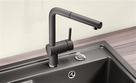 BLANCO mixer taps   the perfect match in function, colour