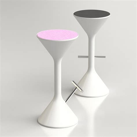 3d sym stool by karim rashid high quality 3d models