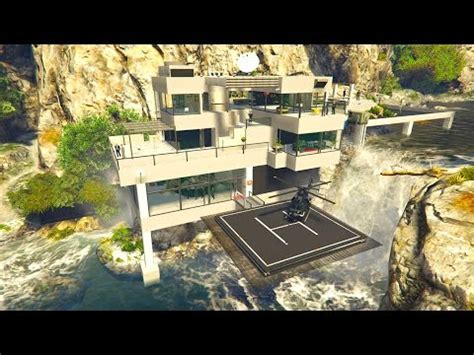 ex machina mansion full download ex machina mansion lake house in gta 5 mod