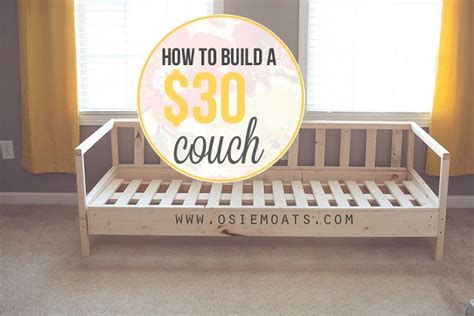 how to assemble a sofa bed how to build a 30 couch by osie moats for the home