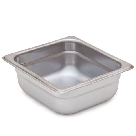 steam table pan 1 6 size standard weight anti jam stainless steel steam