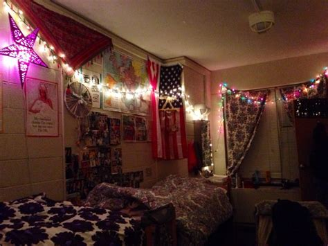 dorm room dorm decor christmas lights indie dorm