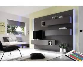 meuble tv mural design lumineux pour un esprit tendance et