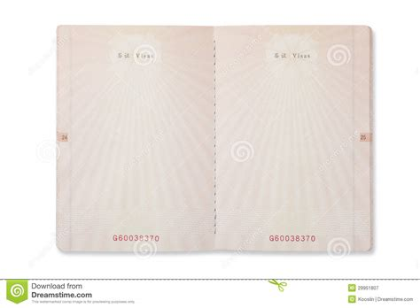 passport pages template www imgkid com the image kid