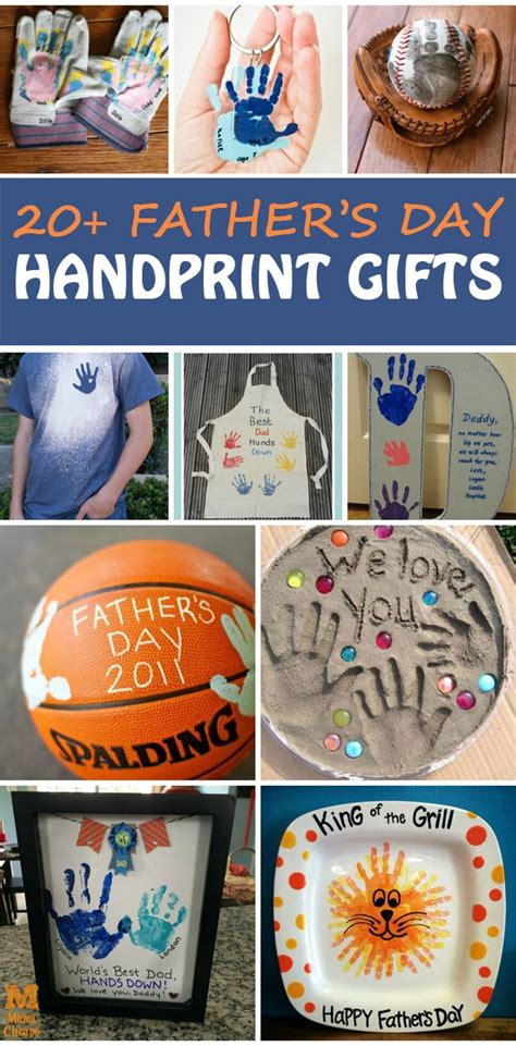 Fathers Day Gifts Handmade - 20 s day handprint gifts for to make