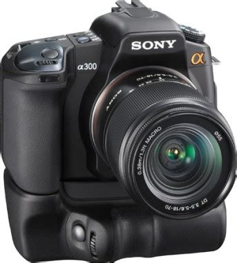 Kamera Sony Dslr A300 sony unveils alpha a300 and a350 dslrs slashgear