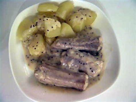 cuisiner de la roussette recette de roussette 224 la moutarde 224 l ancienne