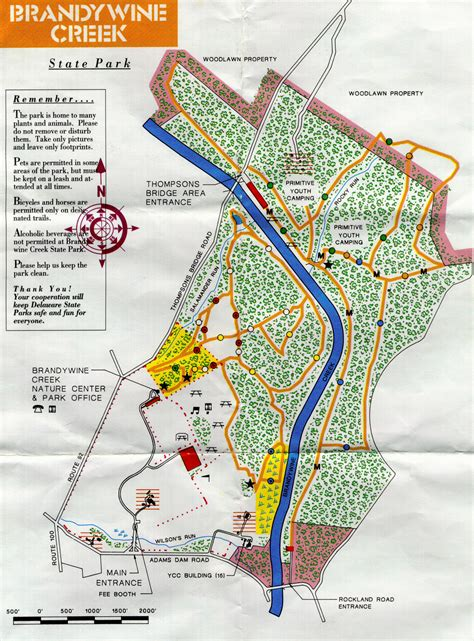 creek state park trail map maps and more