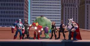 Disney Infinity Marvel Heroes E3 2014 Disney Infinity Marvel Heroes Addresses