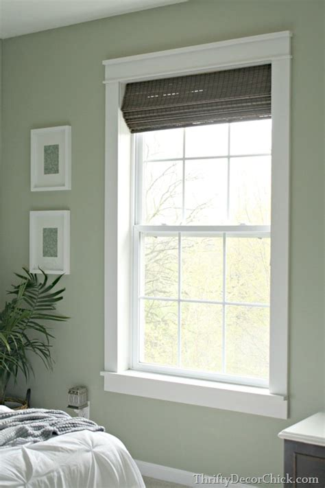 Trim Around Windows Inspiration Trim Makes The Difference From Thrifty Decor