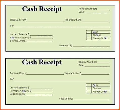 money receipt template word 2003 receipt sle word gift voucher template template