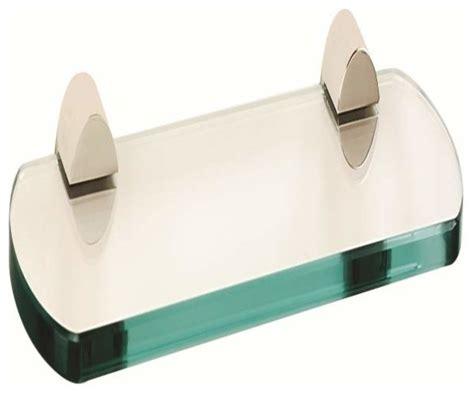 18 glass bathroom shelf alno contemporary iii 18 inch glass shelf chrome