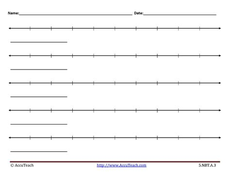 printable number line for rounding rounding decimals using vertical number line worksheet
