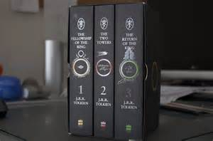 as a human the lord of the rings book set