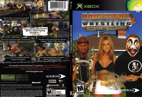 backyard wrestling dvd backyard wrestling 2 xbox outdoor furniture design and ideas