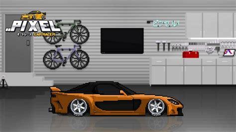 pixel car racer pixel car racer han s veilside mazda rx7