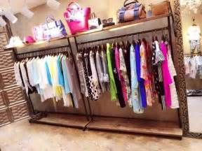 Clothing Store Racks And Shelves Do The Wood Vintage Clothing Store Clothing Racks