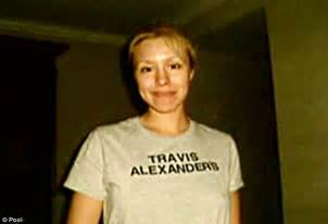 travis alexander wiki jodi arias trial arias sobs as jury is shown ex lover s