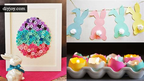 diy decorations 48 diy easter decorations you need right now diy