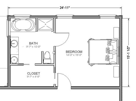 bedroom blueprint maker home addition plans on pinterest master suite addition