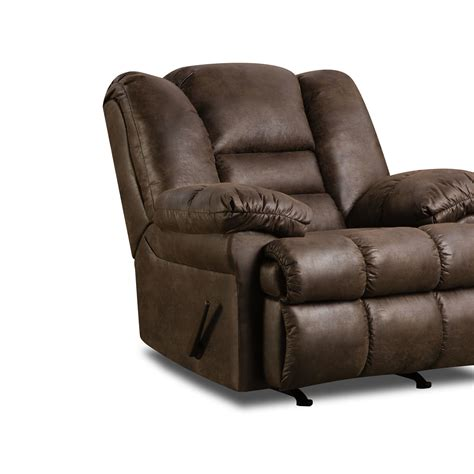 rocker recliner reviews furniture padded angle arm and fully padded chaise with