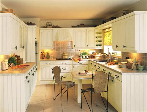 Small Cottage Kitchen Design by Devon Kitchens Kitchenworld Exeter Cottage Cream Kitchen