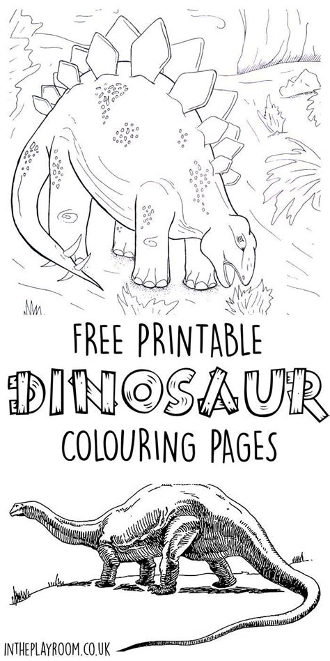 coloring page dinosaur scene dinosaur colouring pages free printable scene and free