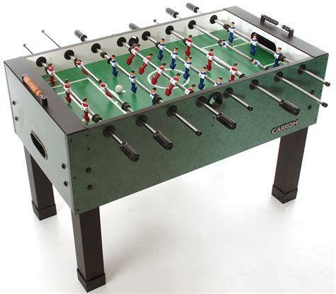 Foosball Tables by Carrom Signature Moroccan Burr Oak Agean Foosball Tables