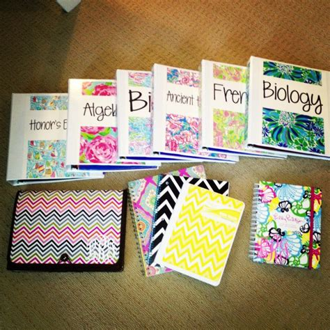 cute themes for school lilly and chevron school supplies college life