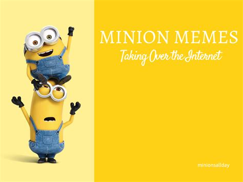 Memes Minions - everything you need to know about minions minionsallday