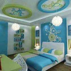 blue green bedroom home design picture