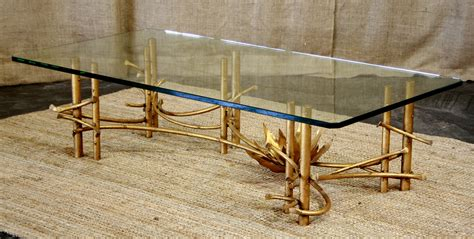 gold bamboo table l new inventory roundup vintage furniture guru