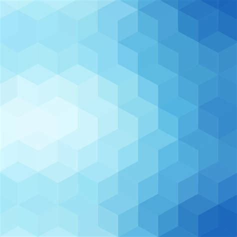 pattern color blue gradient blue color and triangle polygon pattern