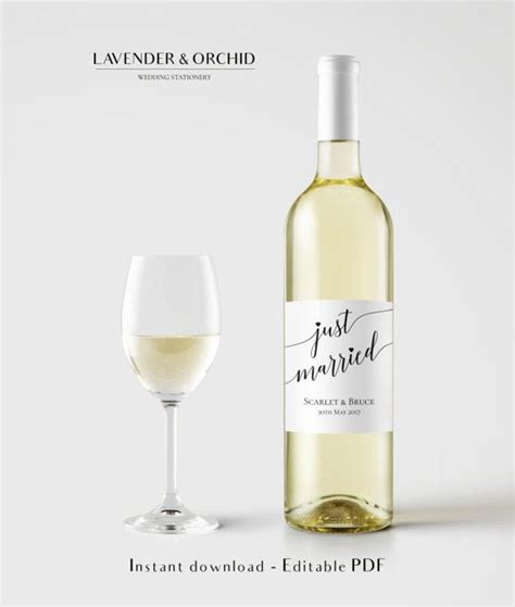 diy wine label template wine bottle label template wine label by lavenderandorchid