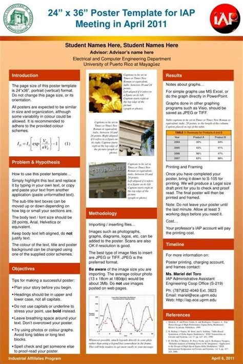 microsoft powerpoint poster templates reboc info gt gt 17