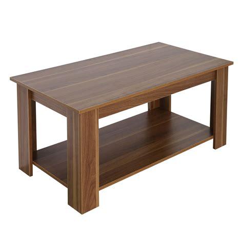 Shelf Lift by New Lift Up Top Coffee Table Living Room Oak Shelf Storage