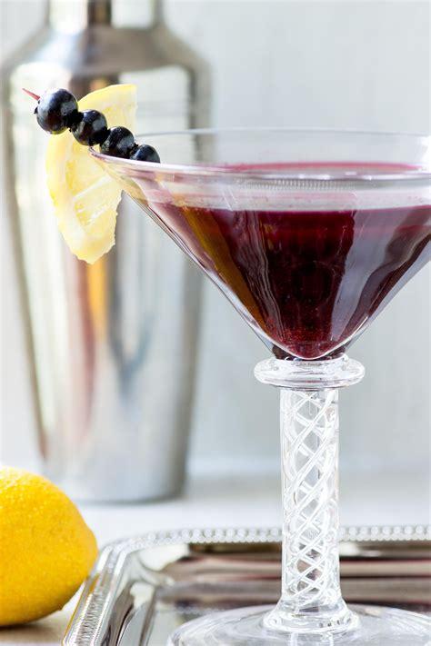 martini blueberry wild blueberry kombucha martini queen of my kitchen