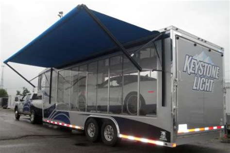 Awning For Cer Trailer by Custom Exhibit Trailers Custom Trailers Usa