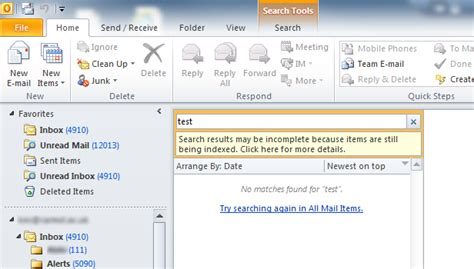 What Is Windows Search Email Indexer Windows 7 Rebuild Search Index