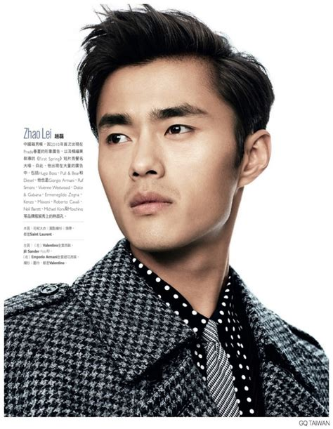 gq model haircuts chiun kai shih shoots top asian male models for gq taiwan