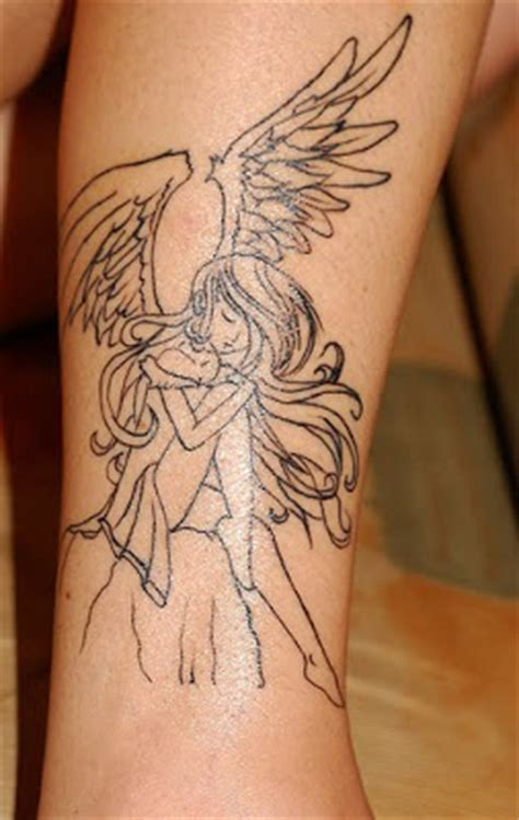 tattoo angel manga anime angel tattoo zentrader