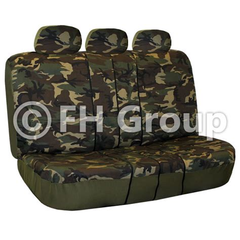 camo split bench seat covers camouflage split bench seat covers dark or light pattern