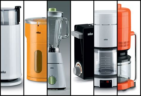 designed kitchen appliances a history of braun design part 4 kitchen appliances core77
