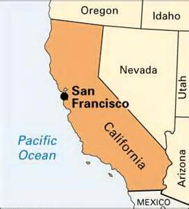 map of california coast of san francisco san francisco encyclopedia children s homework