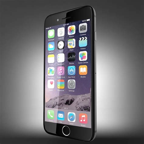 Point 3d 3d Model Of Iphone 4 by Phone Iphone 6 3d 3ds
