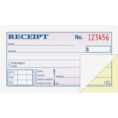 rent receipt books template wire bound money rent receipt books abfdc2501