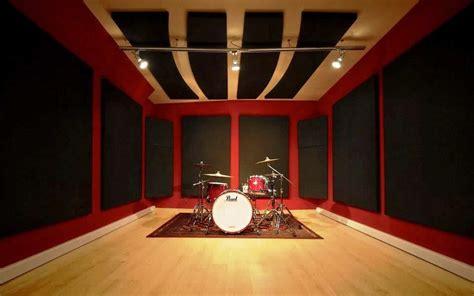 home recording studio acoustic treatment design ideas